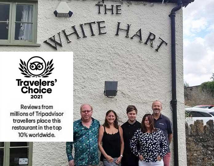 White Hart Tripadvisor Award